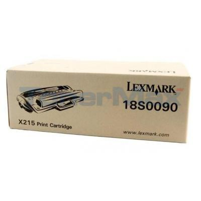 LEXMARK X215 TONER CARTRIDGE BLACK
